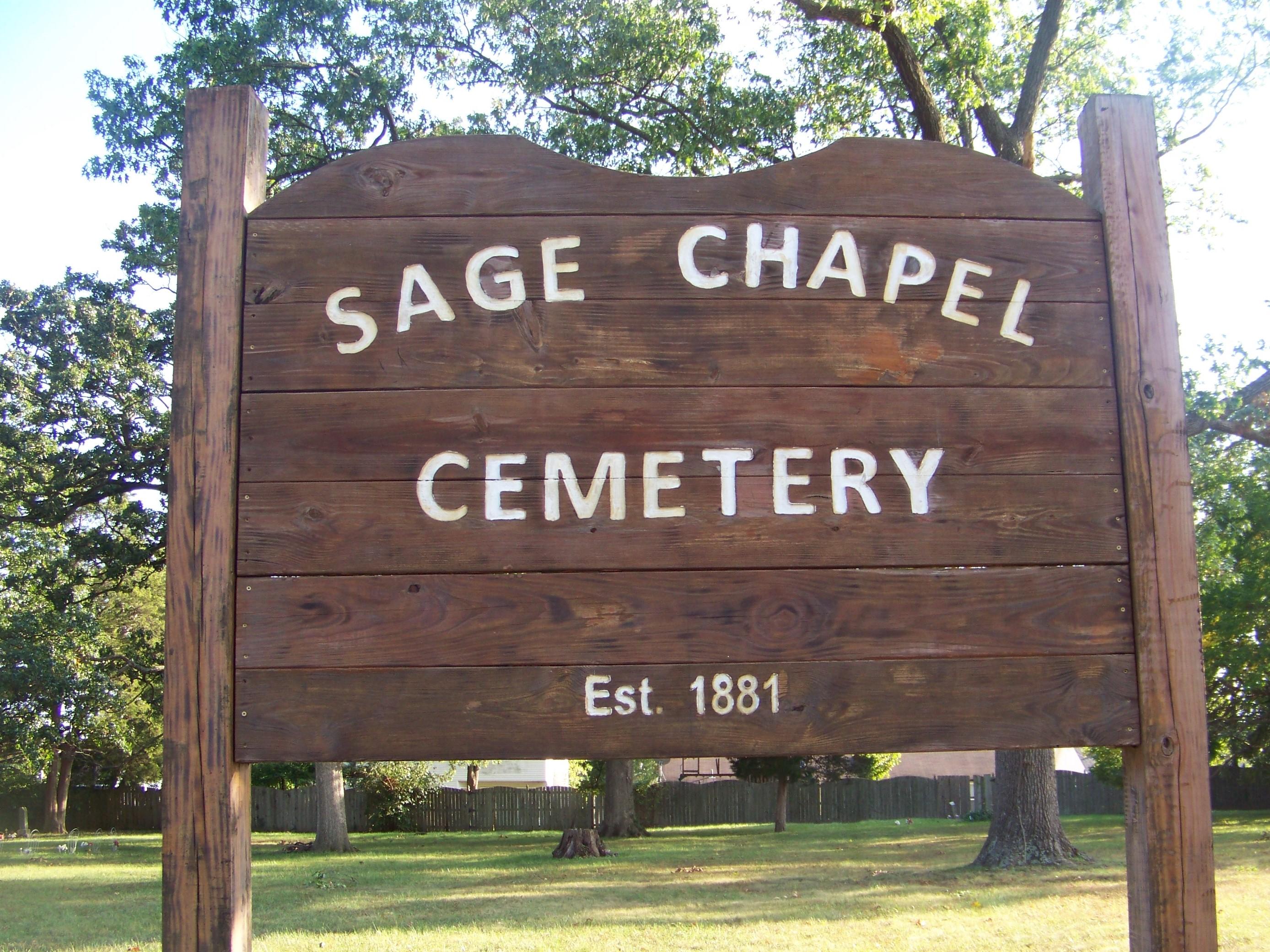 Sage Chapel Cemetery